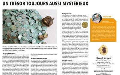 L'article du Clunymag consacré au trésor de CLUNY