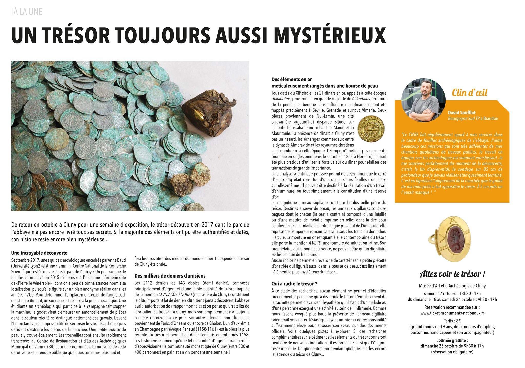 Cluny Mag, Bourgogne sud tp