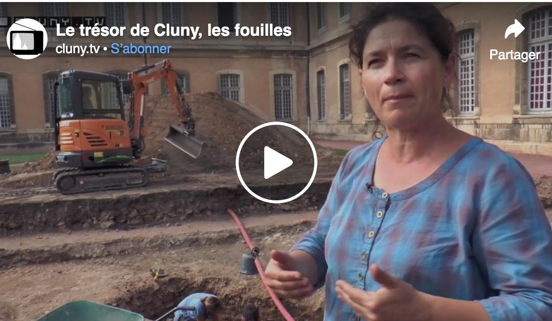 Le trésor de Cluny, le fouillés par Cluny TV